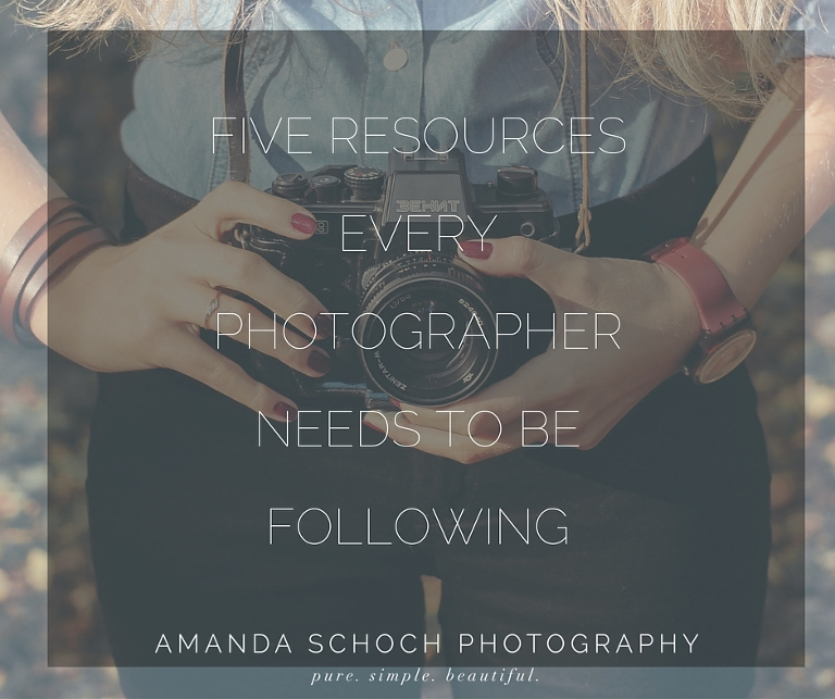 Five Resources for Photographers