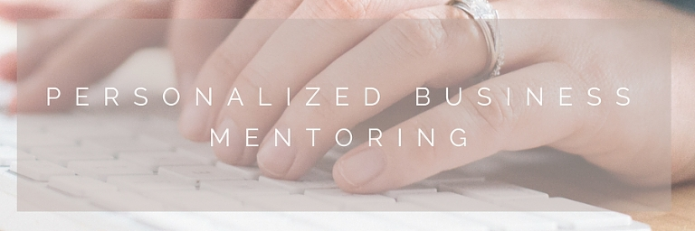 Personalized Business Mentoring - Amanda Schoch Photography